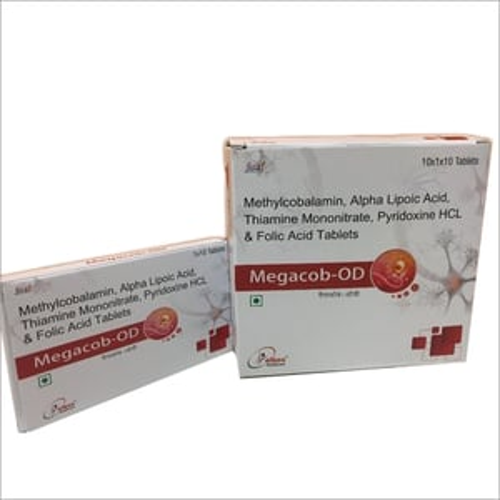 Methylcobalamin Alpha Lipoic Acid Thiamine Mononitrate Pyridoxine HCL & Folic Acid Tablets