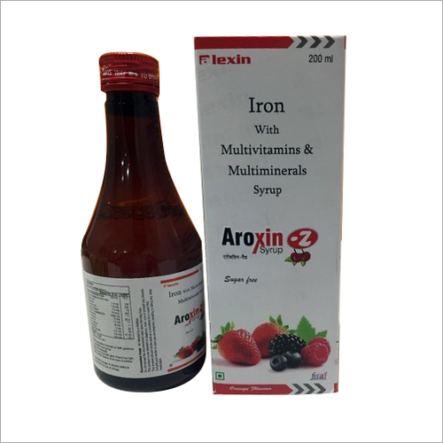 200ml Iron With Multivitamin And Multimineral Syrup