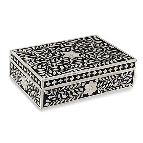 Bone Inlay Designed Jewellery Box