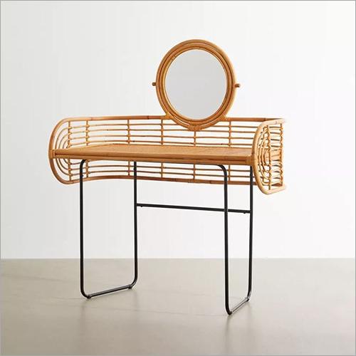 Rattan Side Mirror, Rattan Furniture