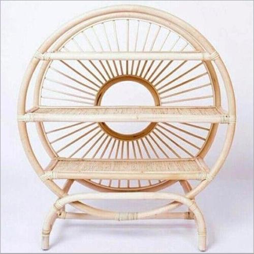 Rattan Furniture Round Sideboard