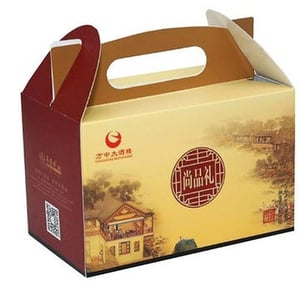 Bakery Product Paper Packaging Box.