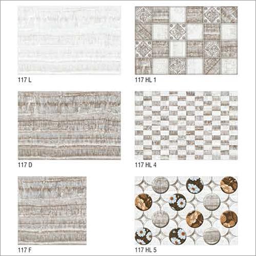 117 Series Glossy Bathroom Tiles