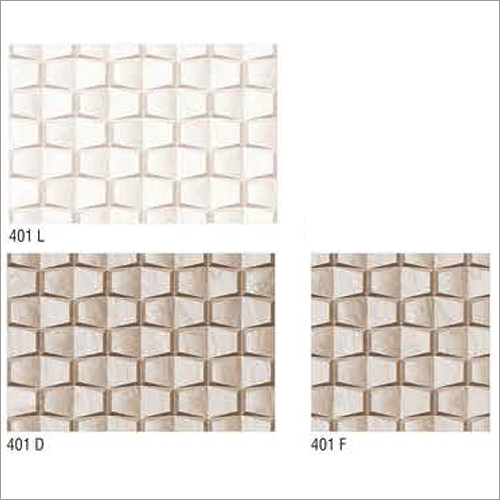 401 Series Glossy 3D Wall Tiles