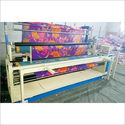 Industrial Fabric Rolling Machine
