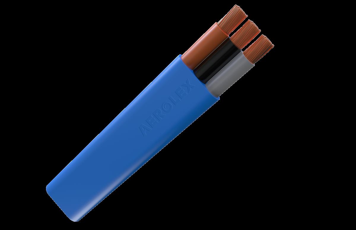 PVC 3 & 4 Core Flat Submersible Drop Cables