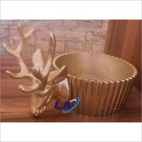 Reindeer Front Candle Stand