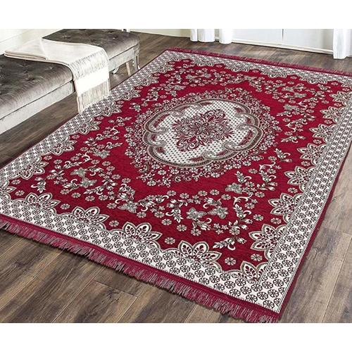 Maroon Chenille Carpet