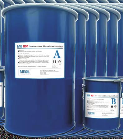 Mesil Me801 Sllicone Sealant Two Components Silicone Structural Sealant