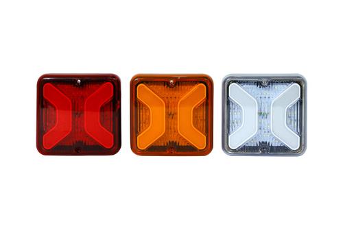 Led Tail Light Bus Square Nm Drl