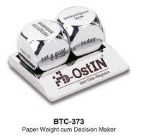 Decision Maker Cum Paper Weight