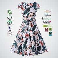 Organic cotton ladies printed Top Manufacturer