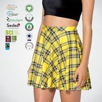 GOTS Organic Cotton Ladies Skirts For Women Summer