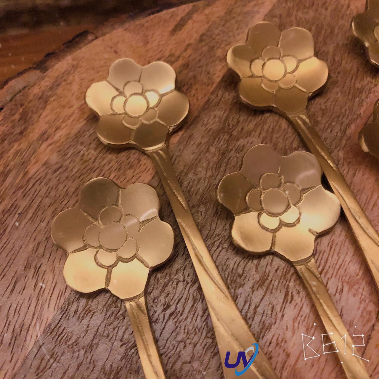 Flower Top Dessert Spoon