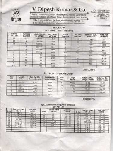 Rates Pages