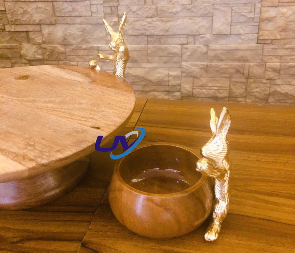 Bunny Combo Serving Platter