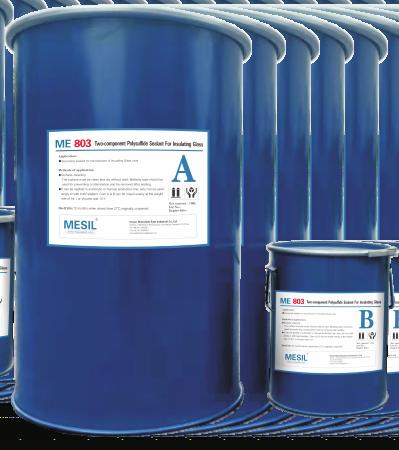 MESIL ME803 silicone sealant Two Components Polysulfide Silicone Sealant for IG
