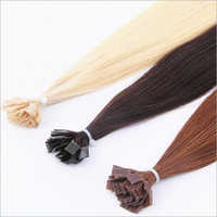 Flat Tip Straight Keratin Hair Extensions