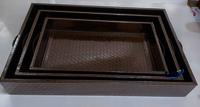 Leatherite Trays