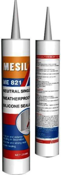Mesil Me821b Silicone Sealant One Component Weatherproofing Silicone Sealant