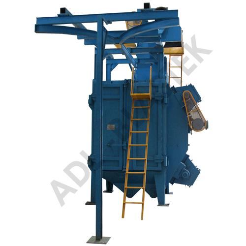 Y-Conveyor Hanger Shot Blasting Machine