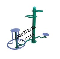 Iron Outdoor Gym Equipments, Model Name/Number: Step21-307