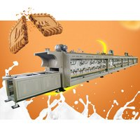 factory price hard and  soft biscuit oven