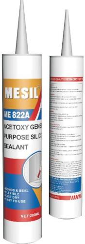 MESIL ME822A - Grade B silicone sealant One Component Acetoxy Silicone Sealant