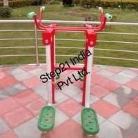 Iron Leg Stretch Machine Outdoor Gym, Model Name/number: Step21-310