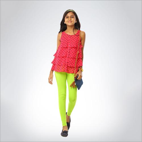 Girls Cotton Leggings
