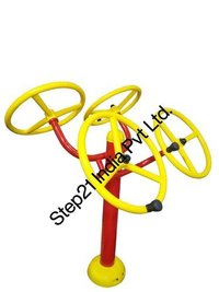 Iron Outdoor Gym Shoulder Wheel ( Double), Model Name/number: Step21-314