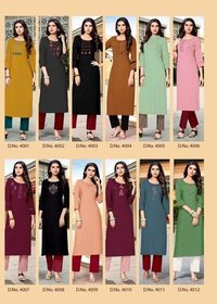 Ladies Multi Color Kurti