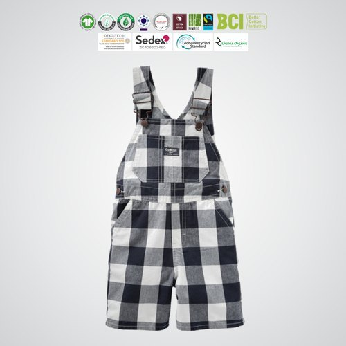 GOTS organic cotton Kids jumpsuits Manufacturer