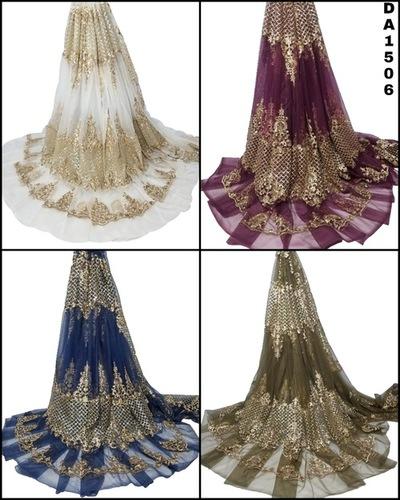 Stunning Net Embroidery Fabric