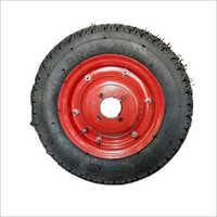 3 x 50 x 8 Inch Solid Rubber Wheelbarrow Tyre