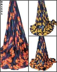 Fruity Digital Print Design on Rayon Slub Fabric