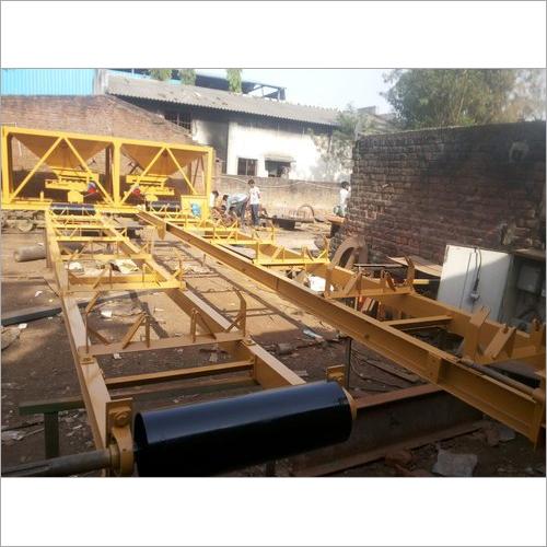 Load Out And Slinger Conveyor Set