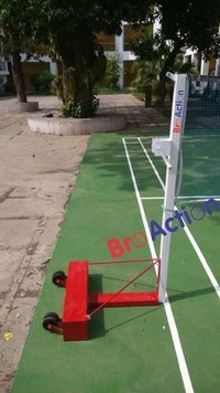 White And Red Motion Badminton Pole, Model Name/number: Step21_204