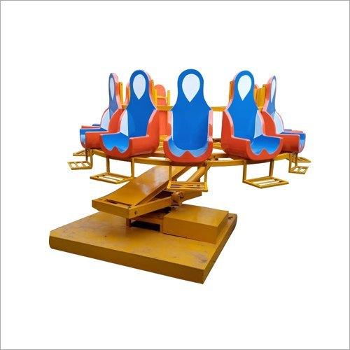 Mild Steel Round Mini Tora Tora Amusement Rides, Capacity: 12 Person
