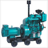 Air Cooled Double Cylinder Engine Generators