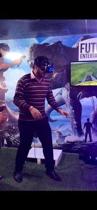 Virtual Reality Arcade Game