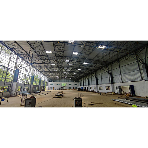 KKI 26 MTR Span Fabrications Of Space Frame Structure