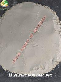 Dry talc powder
