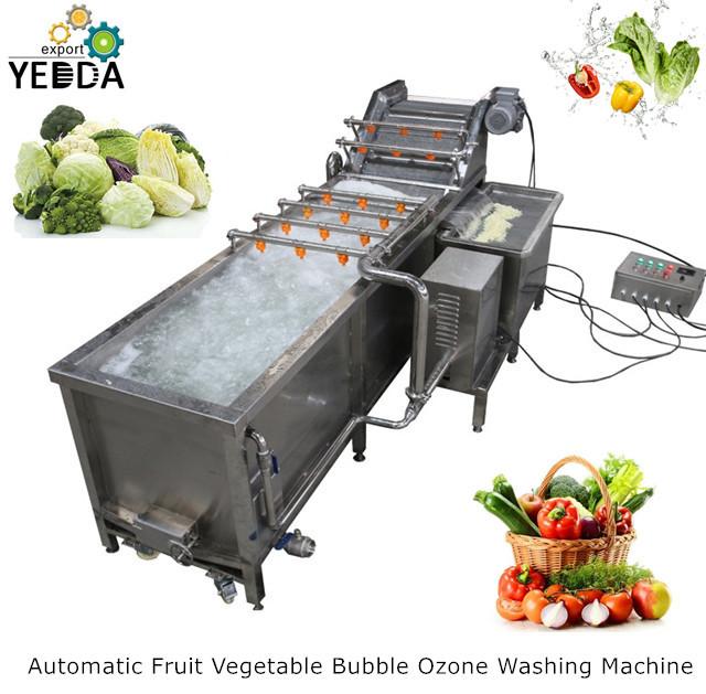 Prickly Pear Bubble Washing Machine Automatic Vegetable Washing Machine