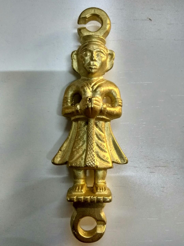 Brass Jhula Doll Heavy