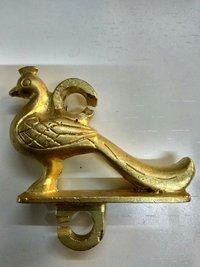 Brass Jhula Peacock Heavy