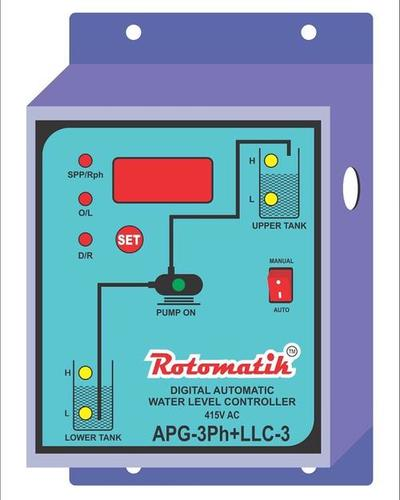 Digital Water Level Controller 3Ph