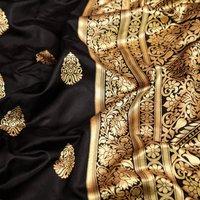 S0ft Lichi Silk Saree