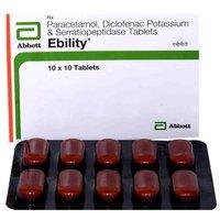 Diclofenac Sodium And Paracetamol Serratiopeptise Tablet