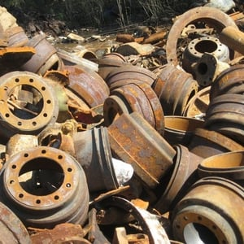 Iron Scrap / Metal Scrap / Cast Iron Used Rail Metal Scrap